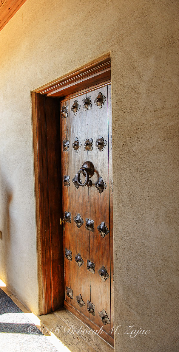 Guest Room Door-Hearst Castle_Photography