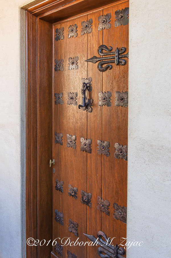 Hearst Castle-Guest Room Door