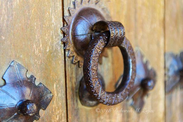 Hearst Castle Guest Room Door detail-Photography
