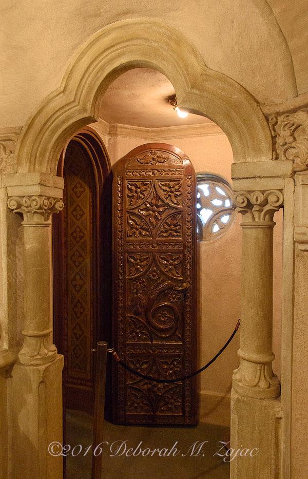 Door in Heart Castle's Bell Tower