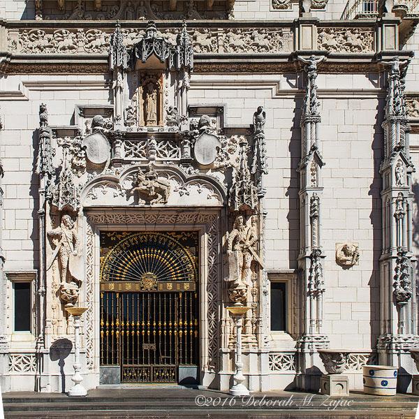 Hearst Castle Front Door-Photography