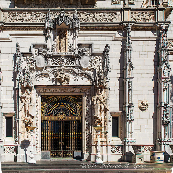Hearst Castle Front Door-Photography