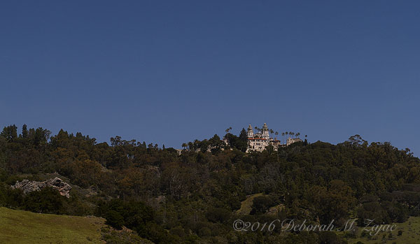 Hearst Castle from the Visitors Center