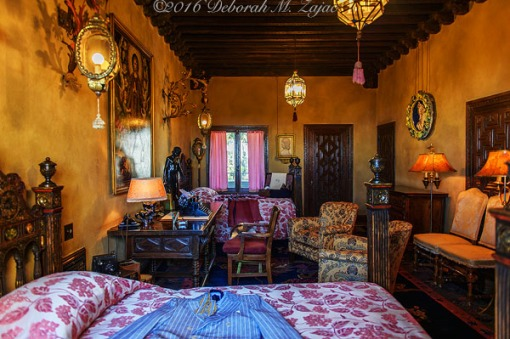 Hearst Castle Guest Room_Photography