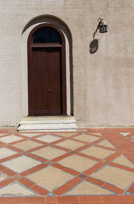 Hearst Castle Exterior Door-Photography