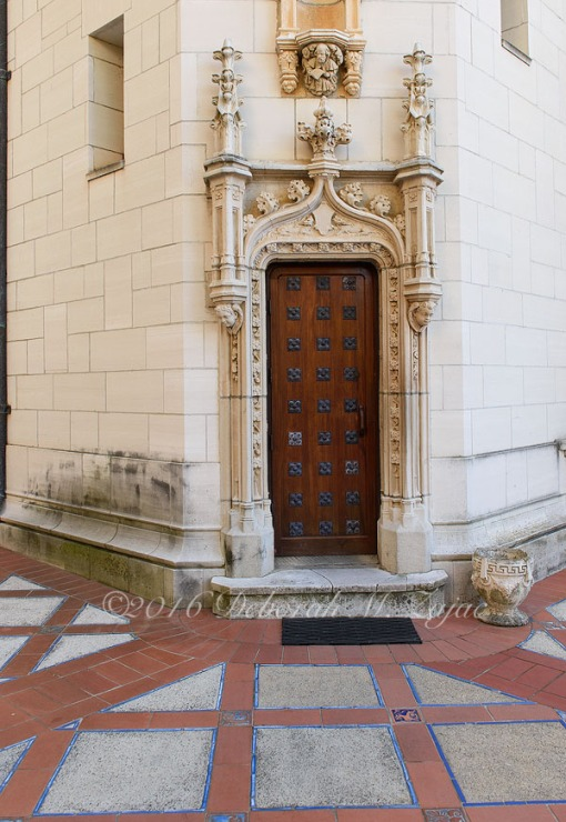 Hearst Castle Exterior Door-Photography