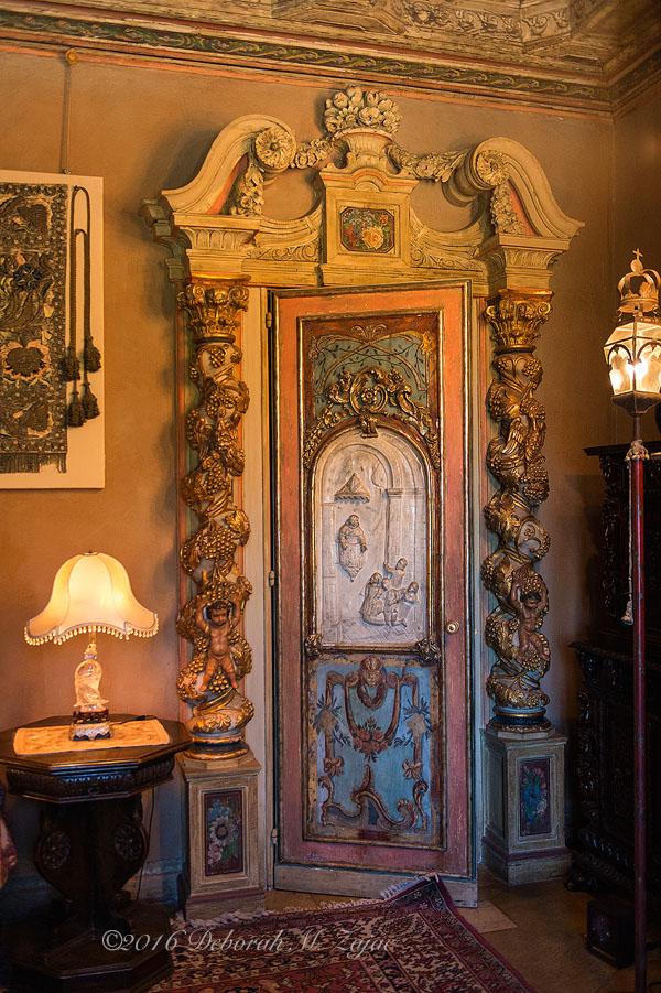Hearst Castle Guest Bedroom Door