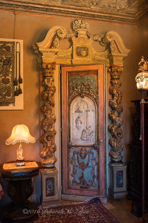 Hearst Castle Guest Bedroom Door