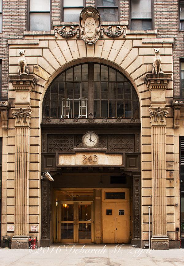 Entrance Door in NYC
