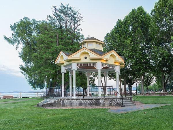 Library Park Gazebo Lakeport CA