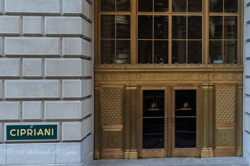 Cunard Line Doors
