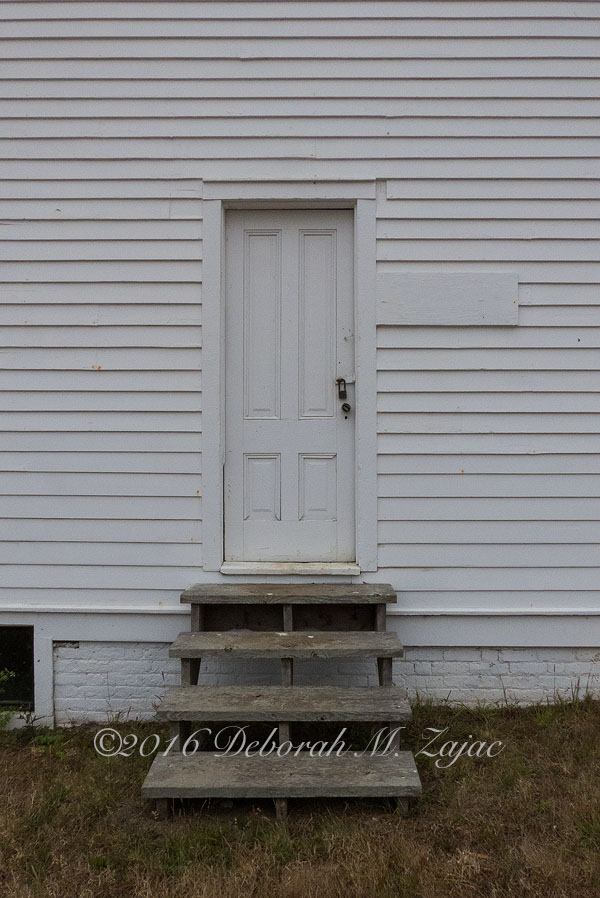 Door to building at Pierce Point Ranch
