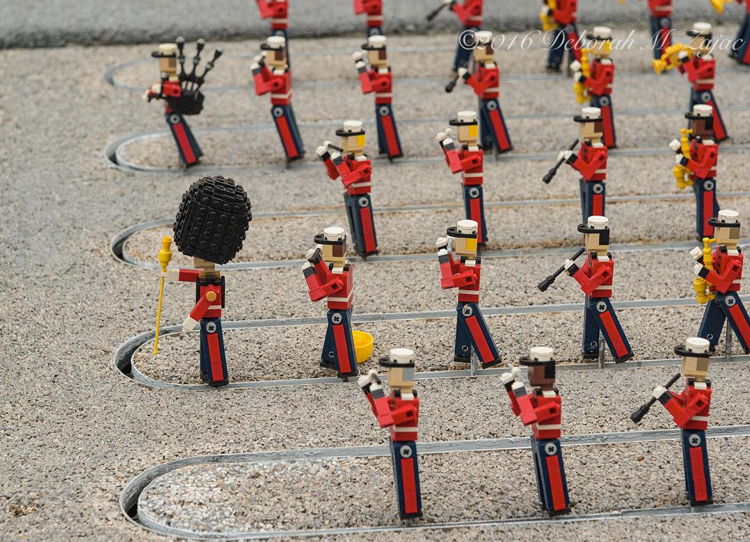 Drum Major Marching Band LegoLand CA