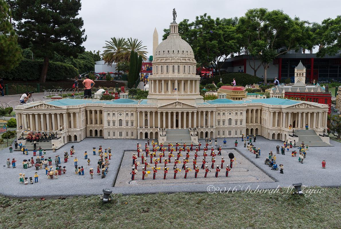 Legoland United States Capitol Building