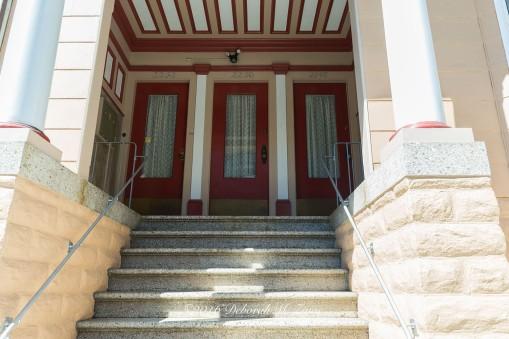 3 Red Doors
