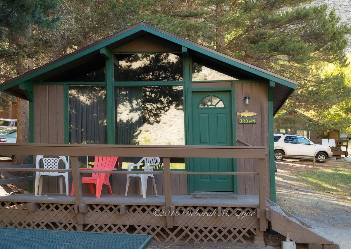Fishing Cabin in the Eastern Sierras