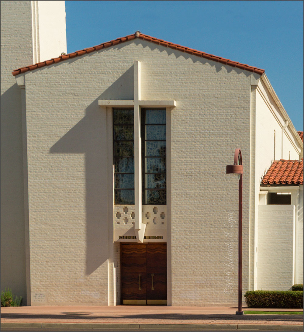Central United Methodist Church Front Doors