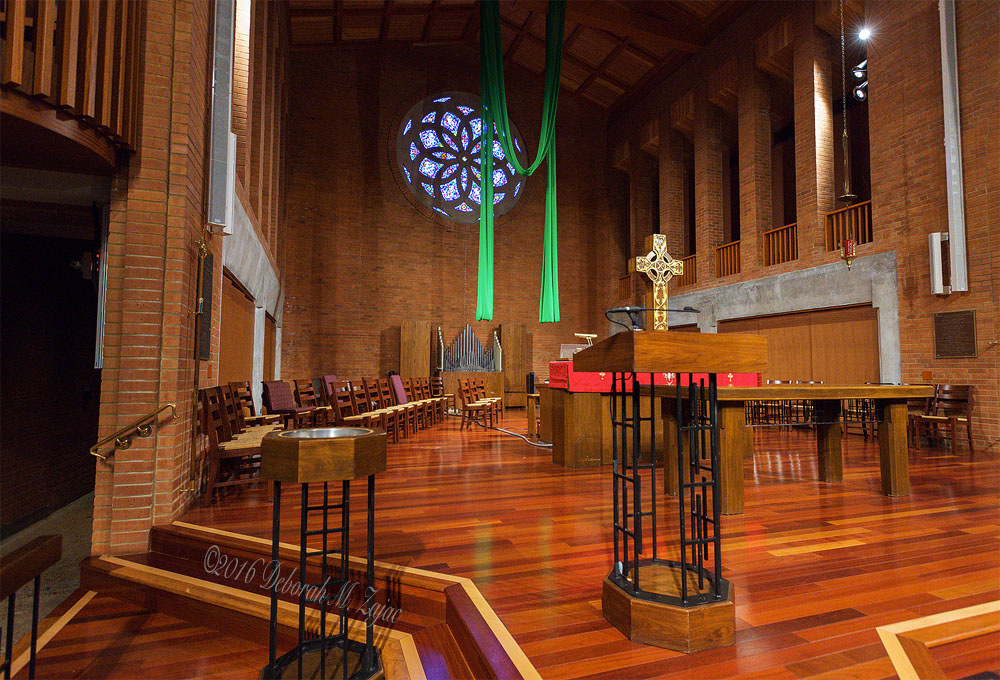 Central United Methodist Church Interior