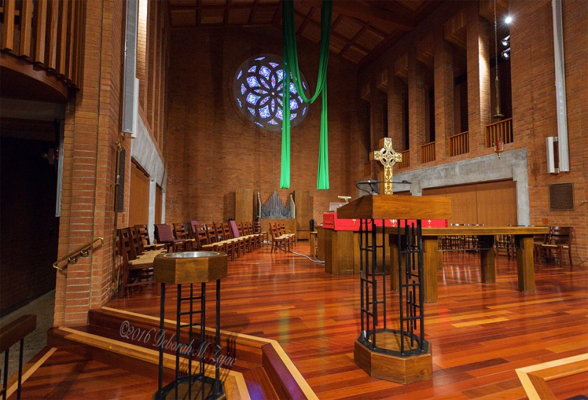 Central United Methodist Church Interior
