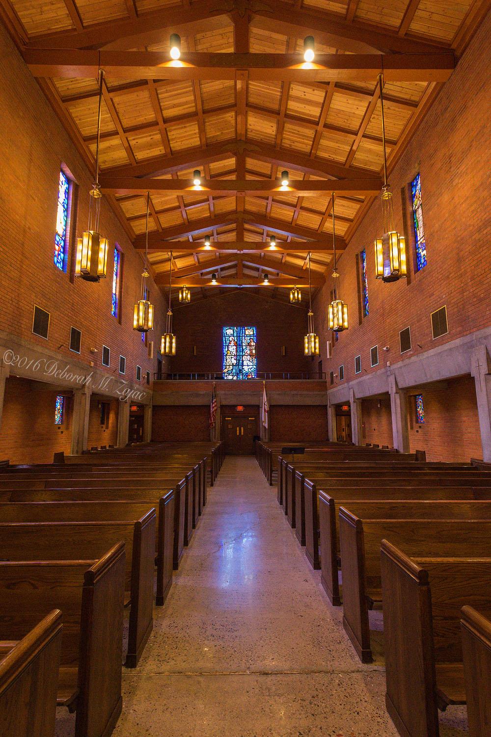 Interior Central United Methodist Church