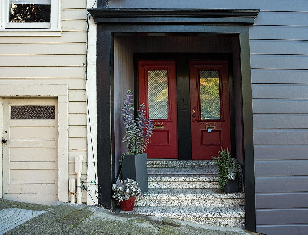 N°443 & 445 Red Doors