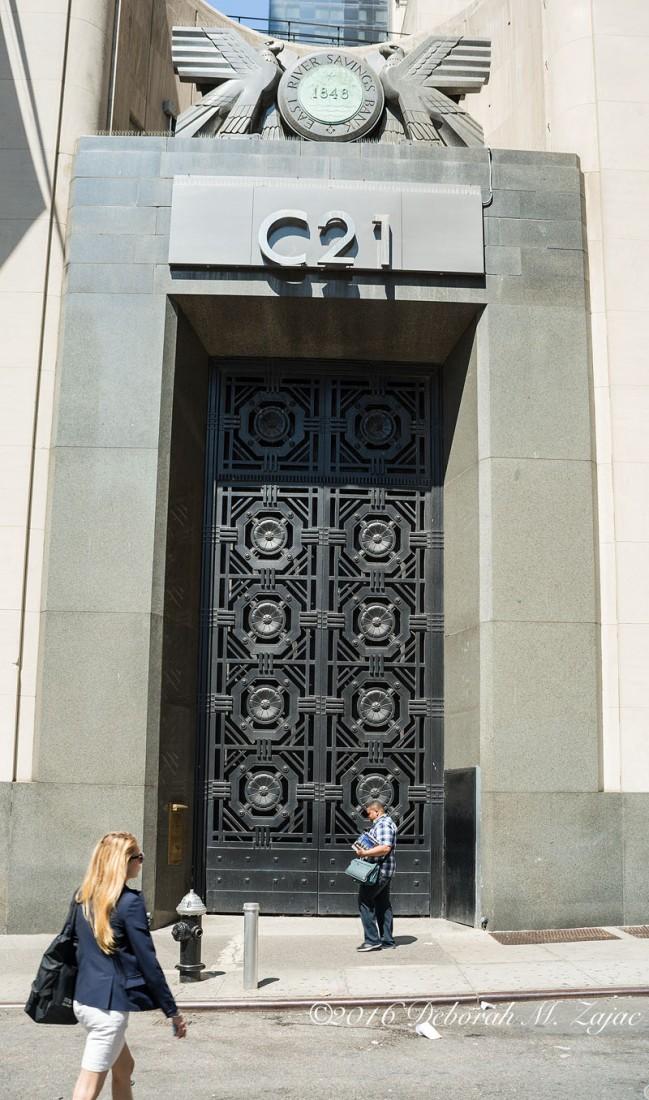 Century 21 Store side door
