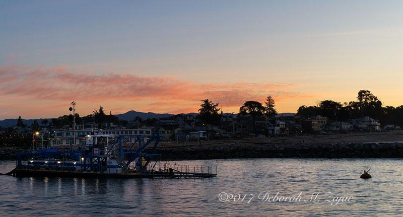 Harbor Channel Santa Cruz Dawn
