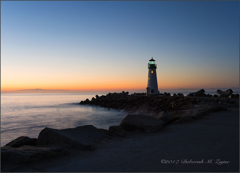 Walton Light Station Dawn