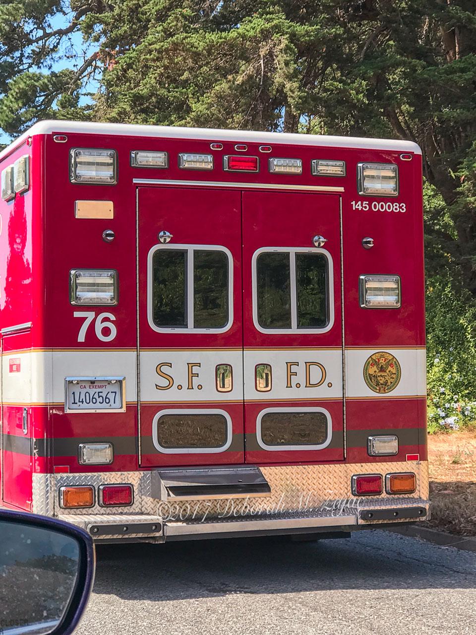 SFFD Truck Doors