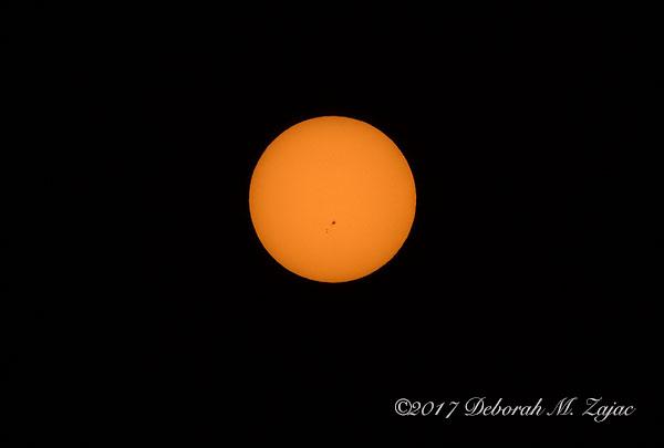 Sun July 10, 2017 with Sunspot AR2665