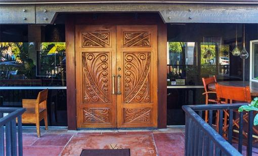 Vintana Grill Entry Doors