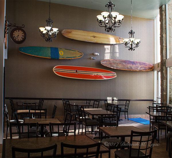 Vintage Surf Boards Ventana Grill