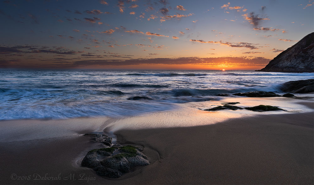 Gray Whale Cove Sunset