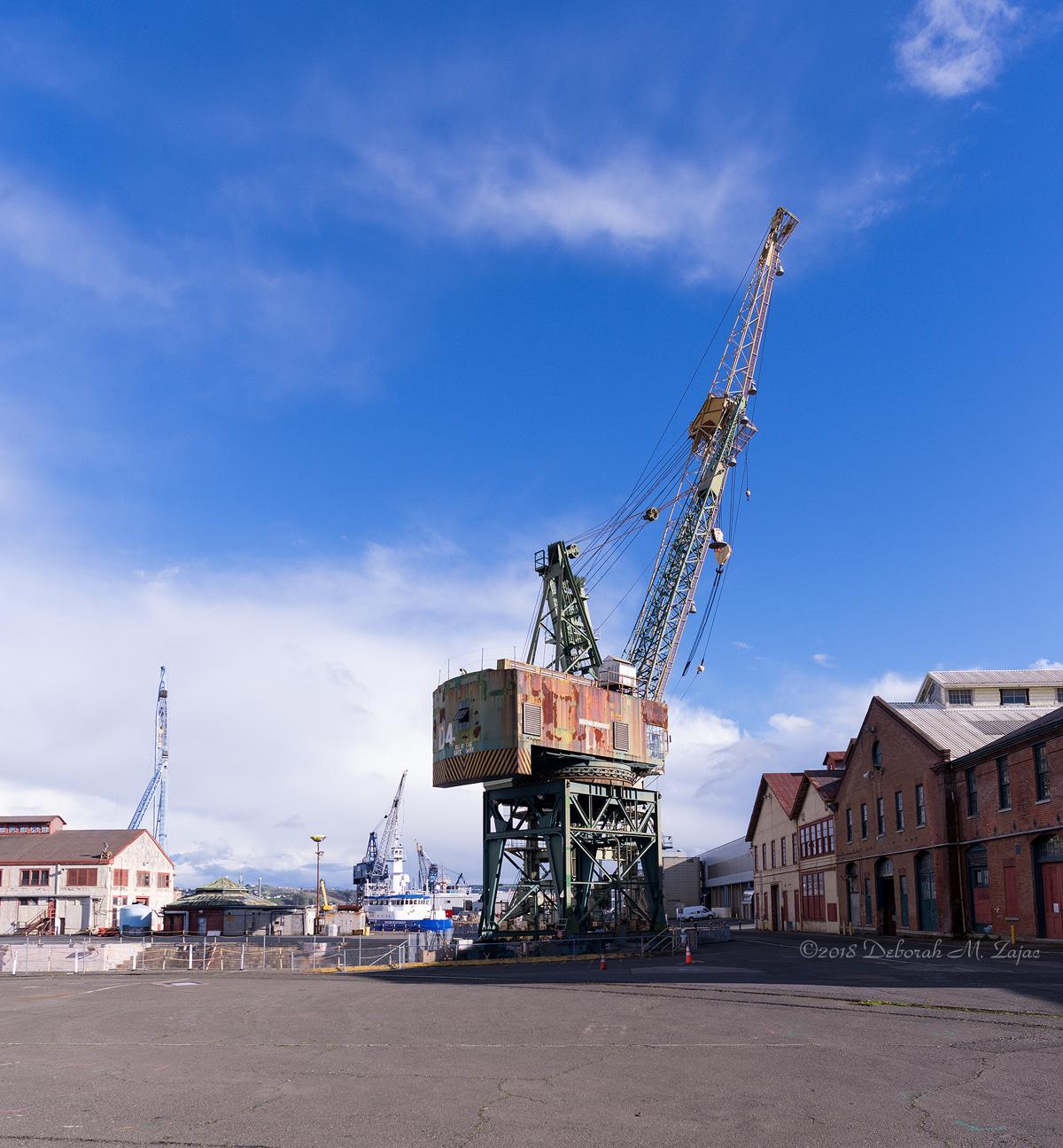 At-At like Crane at the Dry Dock