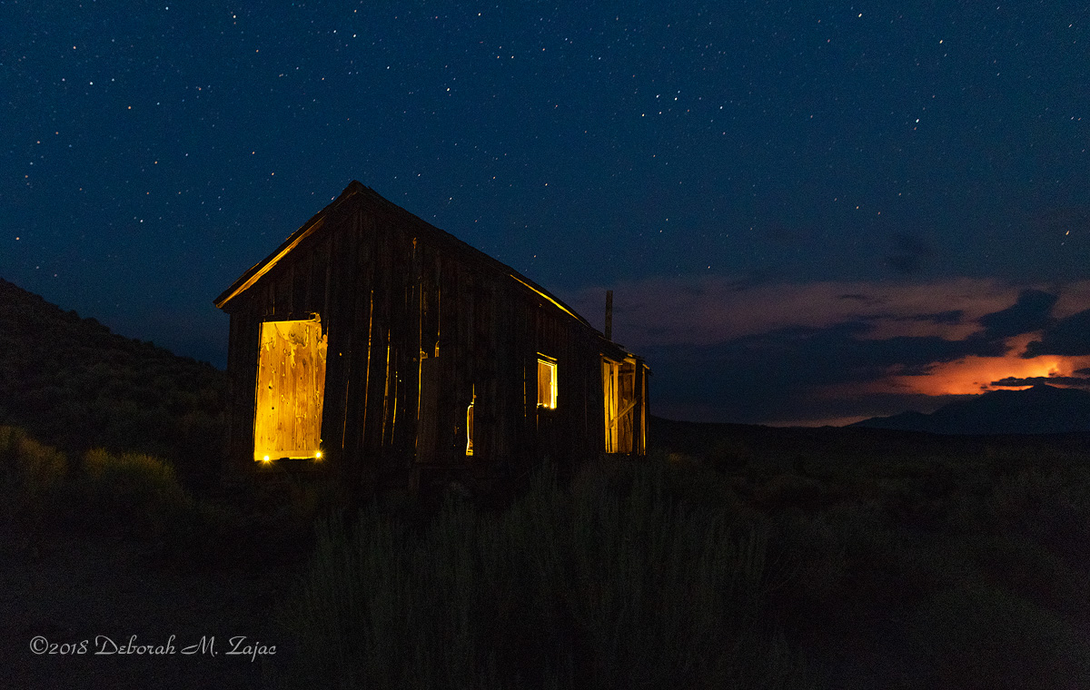 The Old Cabin in Adobe Valley