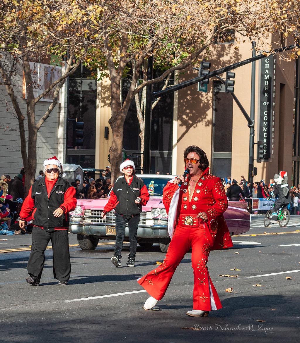 Elvis Christmas Parade Downtown San Jose CA 2010