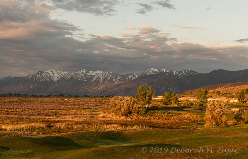 Golden Hour on the Eastern Sierras and Neighborhood