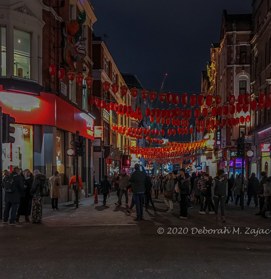 Chinatown, Soho London UK