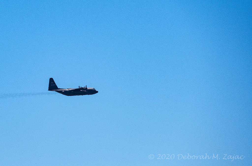 USAF C130 Flyovrer 2020