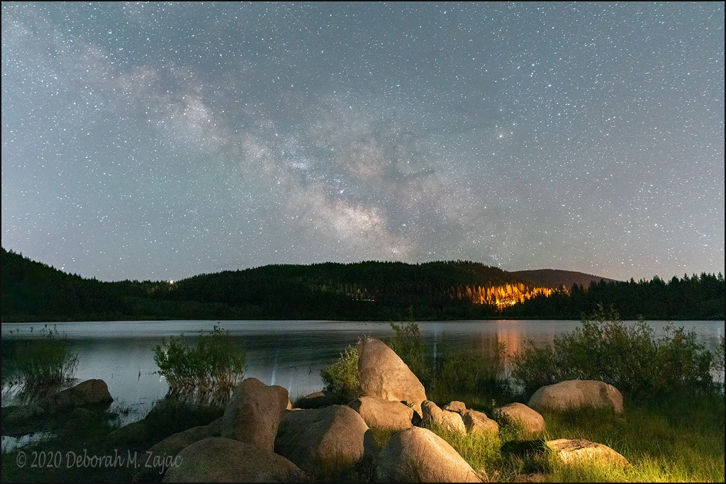 Milky Way over Spooner Lake