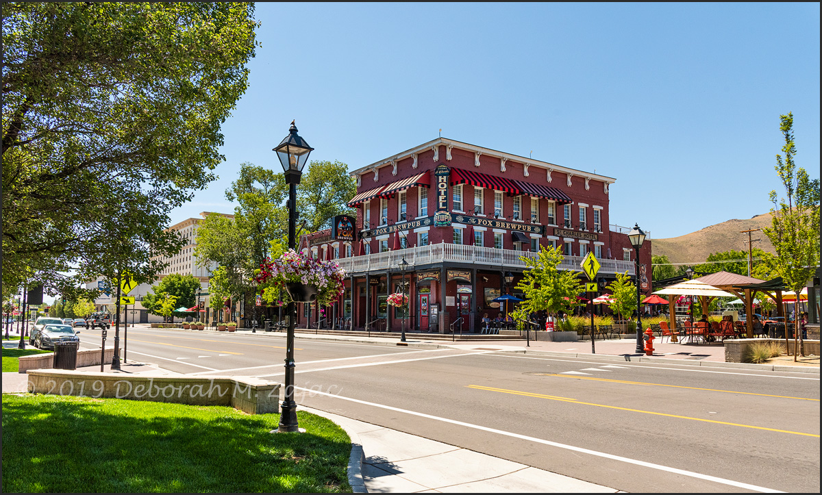 Historic Mt Charles Hotel and The Fox BrewPub